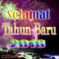 DP BBM Selamat Tahun Baru 2016