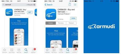 Carmudi iOS step 1