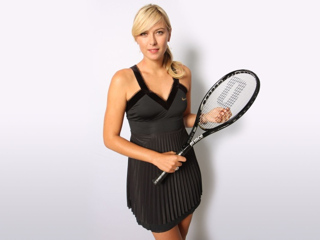 Maria Sharapova Nendang (4)