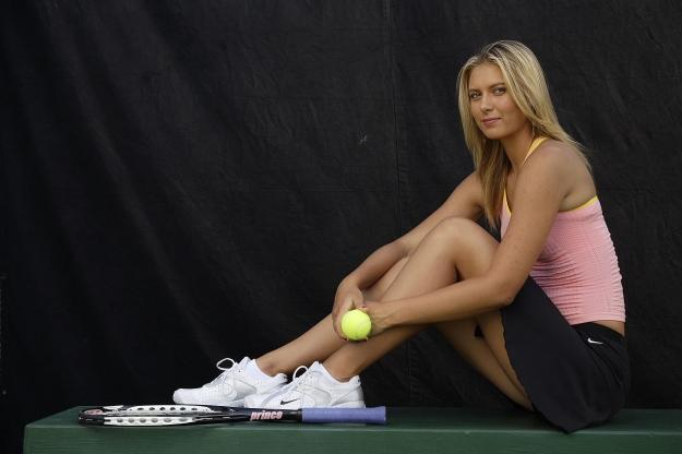 Maria Sharapova Nendang (5)