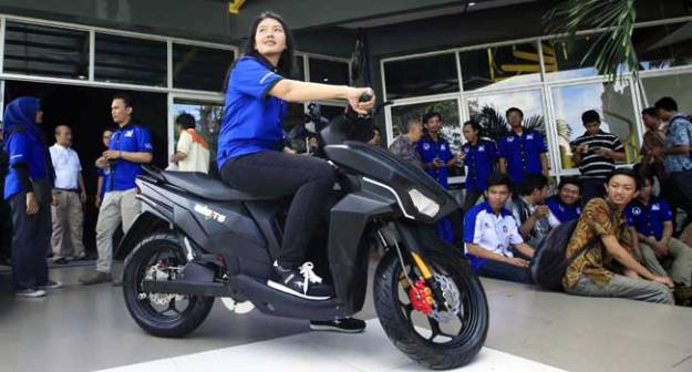 Sepeda Motor Irit